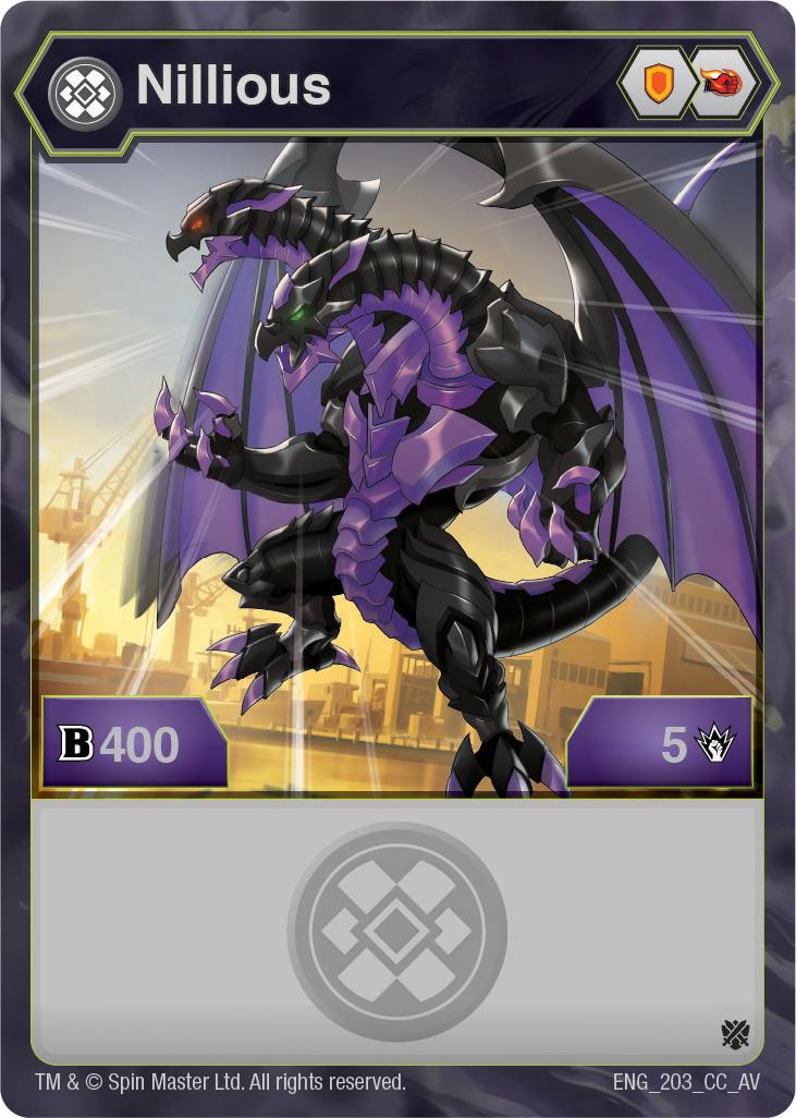 Darkus Nillious (Armored Elite) - The Bakugan Wiki