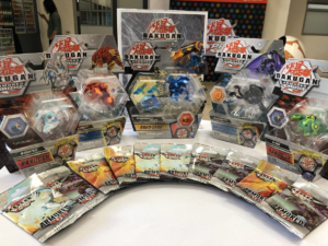 New Bakugan in packaging at Event.png